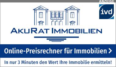 Online-Preisrechner für Immobilien von AkuRat-Immobilien