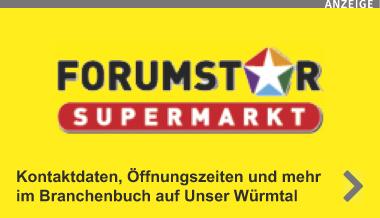 Forumstar Supermarkt Martinsried - Ihr Einkauf, Ihr Vorteil