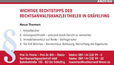 Prof. Dr. Thieler – Prof. Dr. Böh – Thieler Rechtsanwaltsgesellschaft mbH Gräfelfing