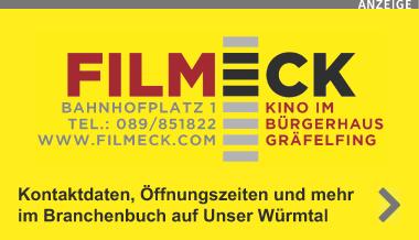 Ausgesuchtes Filmpro- gramme * Filmgespräche * Opern-, Theater- & Ballettmatineen * Kinderkino *
